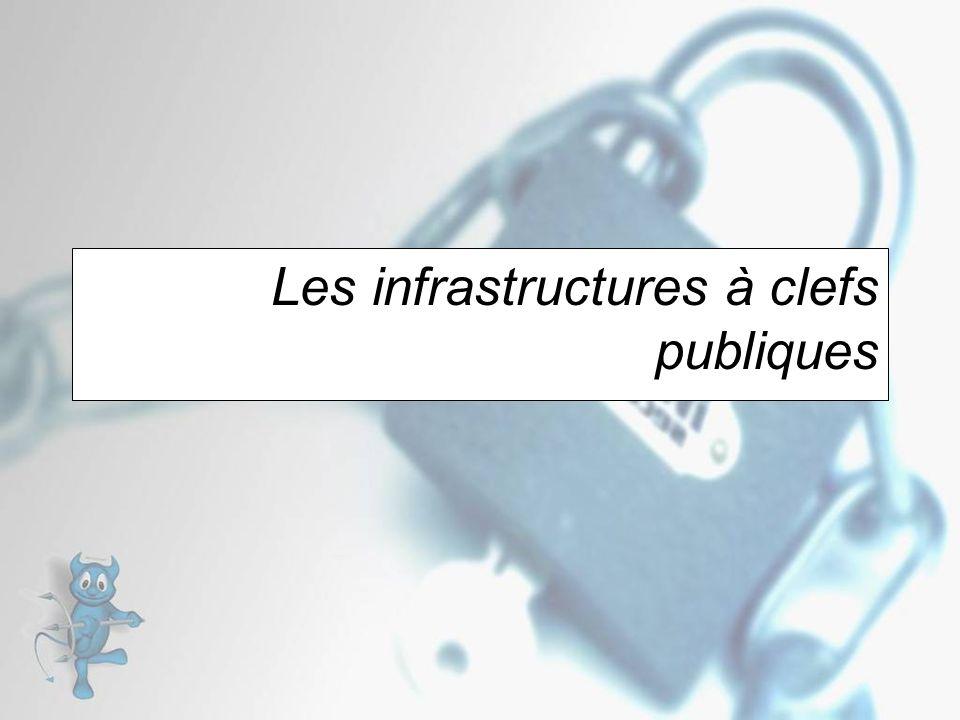 Les infrastructures à clefs publiques