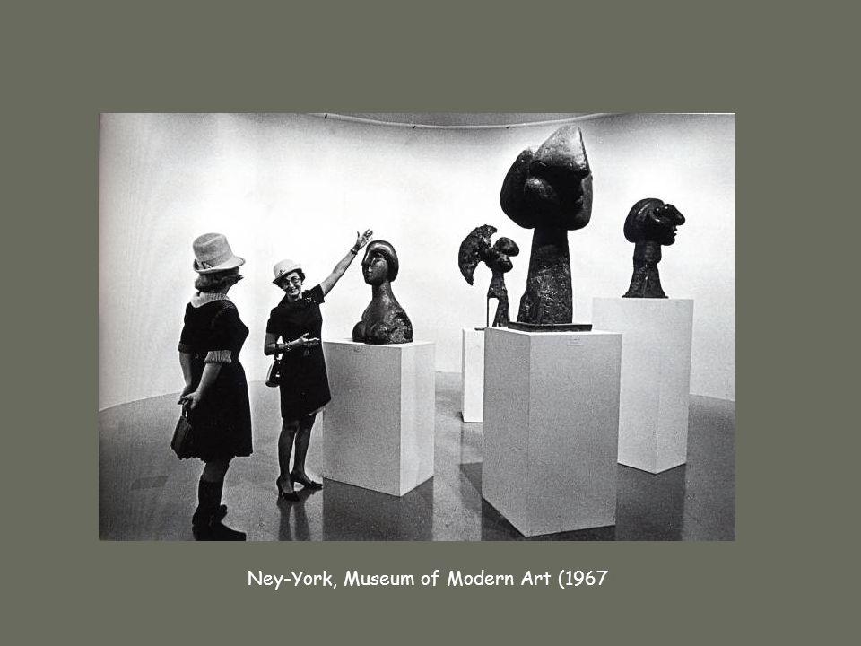 René Burri Ney-York, Museum of Modern Art (1967)