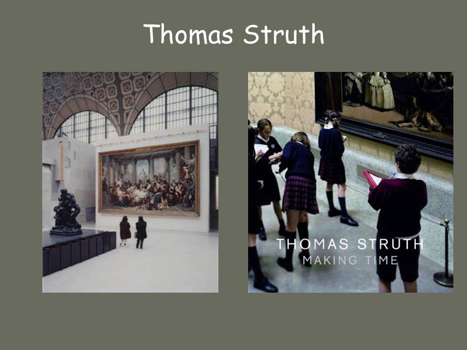 Musée dOrsay II Paris 1989 (224 X 183 cm) Musée du Prado Thomas Struth