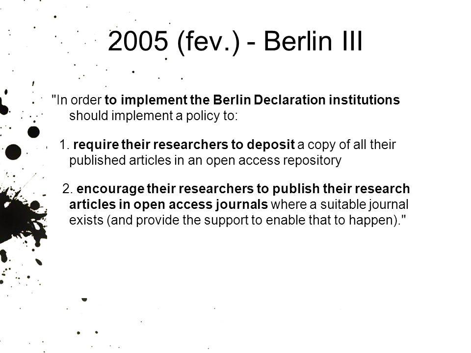 2005 (fev.) - Berlin III