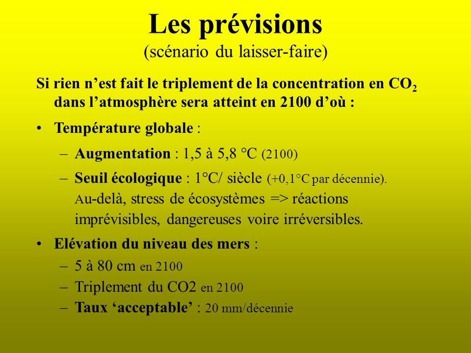 Le réchauffement est là la température : +0,6 °C depuis 1900 ; 2002 : 2 e année la plus chaude (1ere : 1998) ; les 10 années les plus chaudes depuis 1