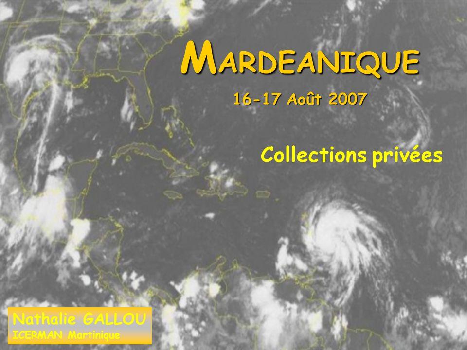 M ARDEANIQUE 16-17 Août 2007 Collections privées Nathalie GALLOU ICERMAN Martinique