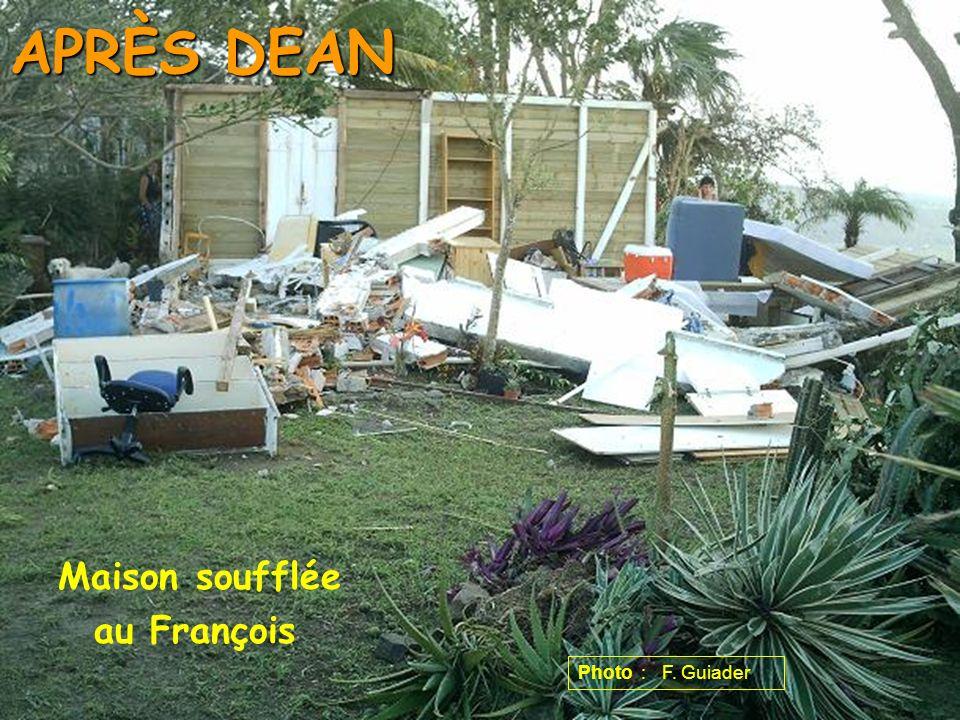 APRÈS DEAN Maison soufflée au François Photo : F. Guiader