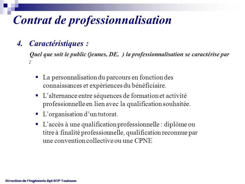 Direction de lIngénierie Dpt BTP Toulouse TITRES (Cibles prioritaires) correspondant à une qualification de la branche : Gros-Oeuvre : AEB, CBA, MACON, ATEC, CEMG, TEB, TSBEC A.F.