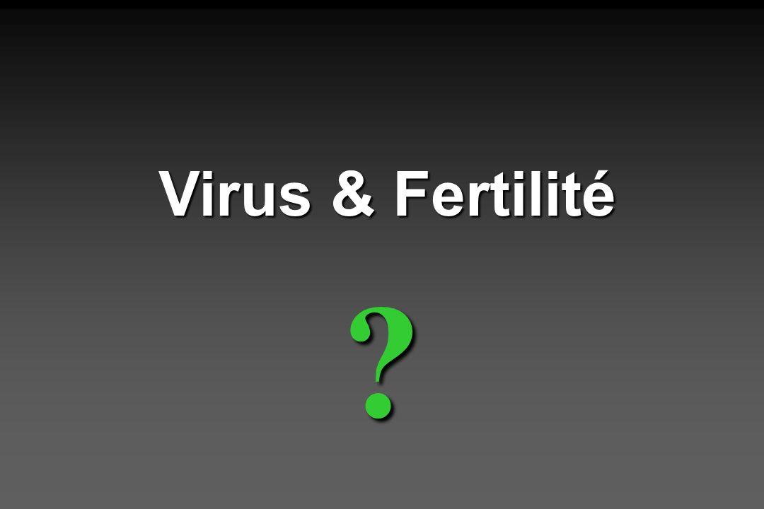 Virus & Fertilité ?