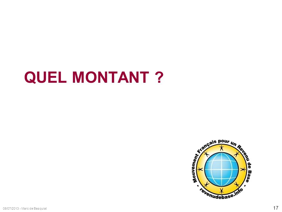 17 08/07/2013 - Marc de Basquiat QUEL MONTANT ?