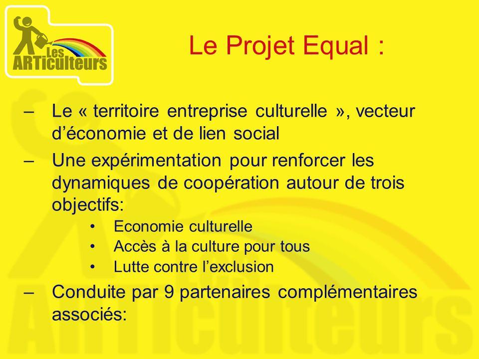 –Le « territoire entreprise culturelle », vecteur déconomie et de lien social –Une expérimentation pour renforcer les dynamiques de coopération autour