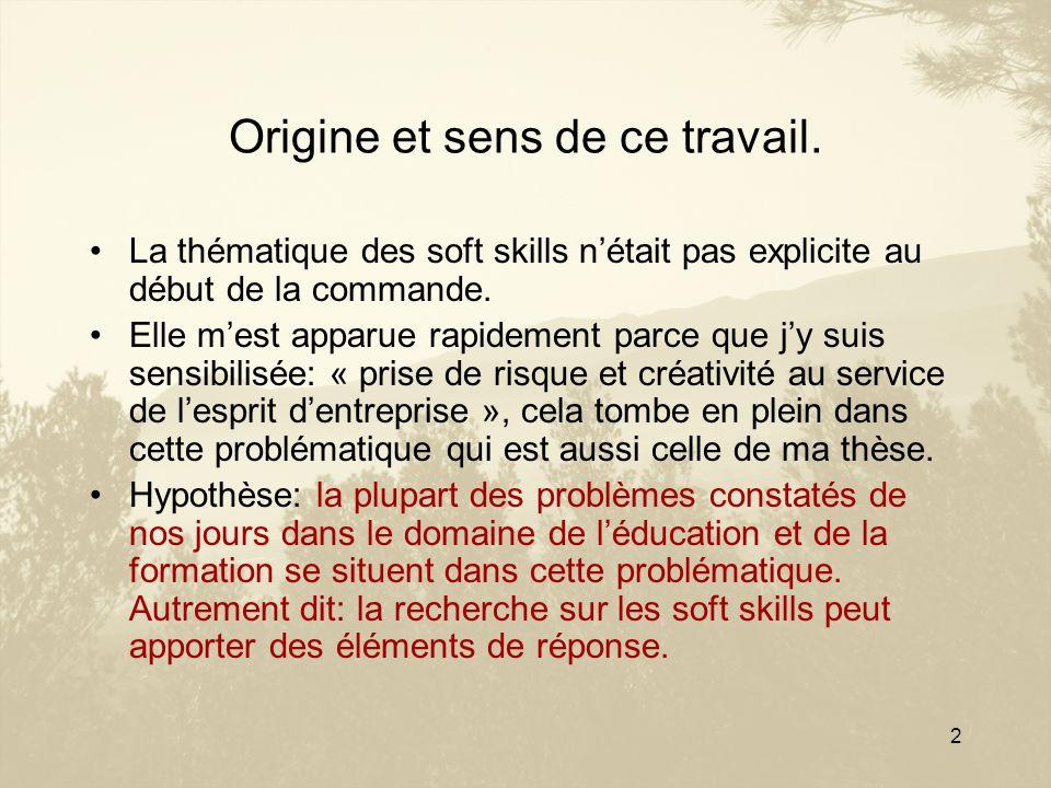 3 Trois questions concernant les soft skills: Comment les concevoir .