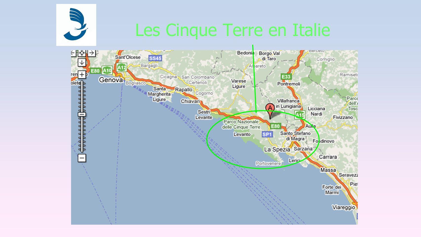 Les Cinque Terre en Italie