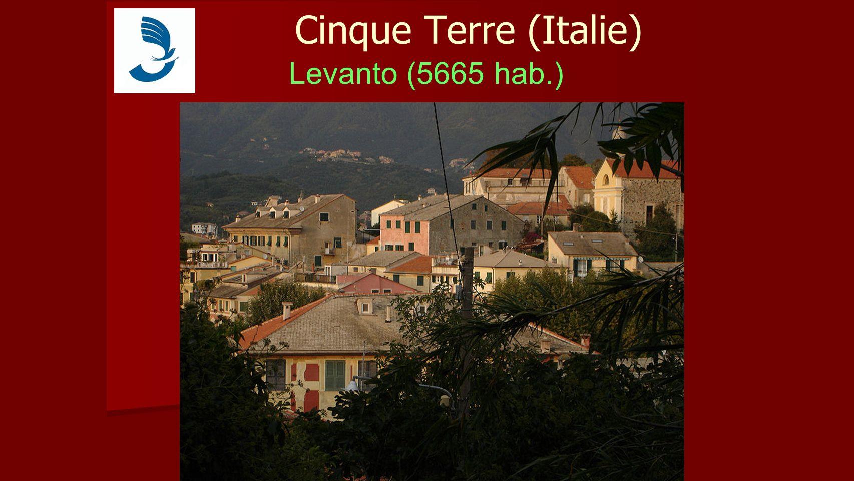 Cinque Terre (Italie) Levanto (5665 hab.)