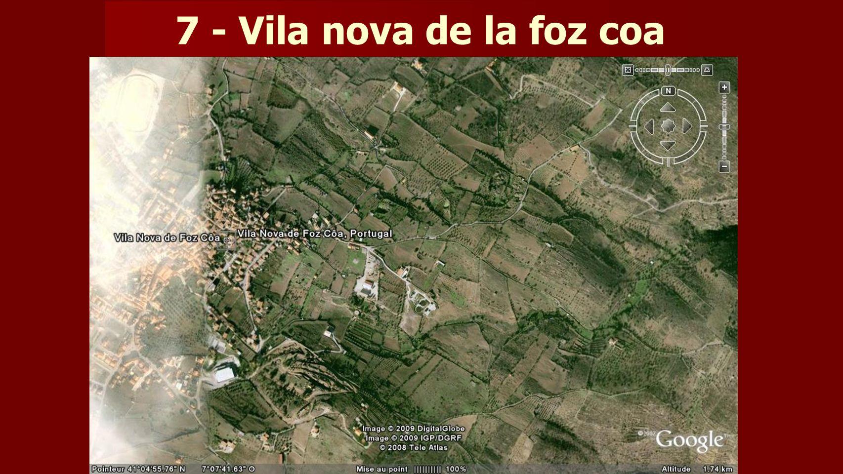 7 - Vila nova de la foz coa