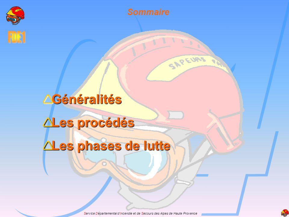 Service Départemental dIncendie et de Secours des Alpes de Haute Provence Généralités