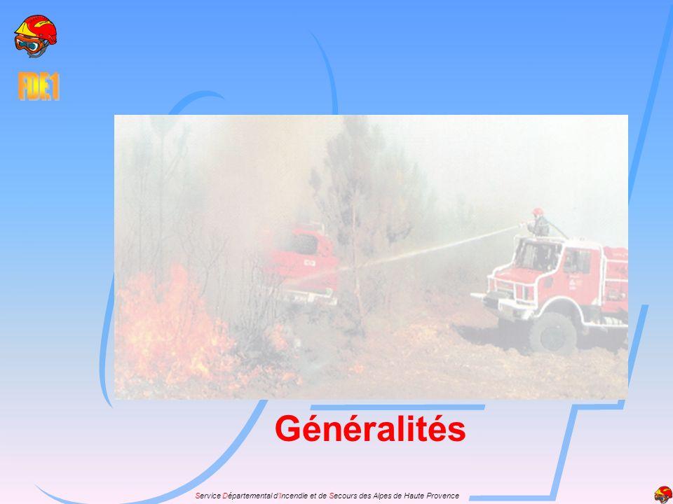 Service Départemental dIncendie et de Secours des Alpes de Haute Provence En règle générale en supprimant les causes, on supprime les effets.