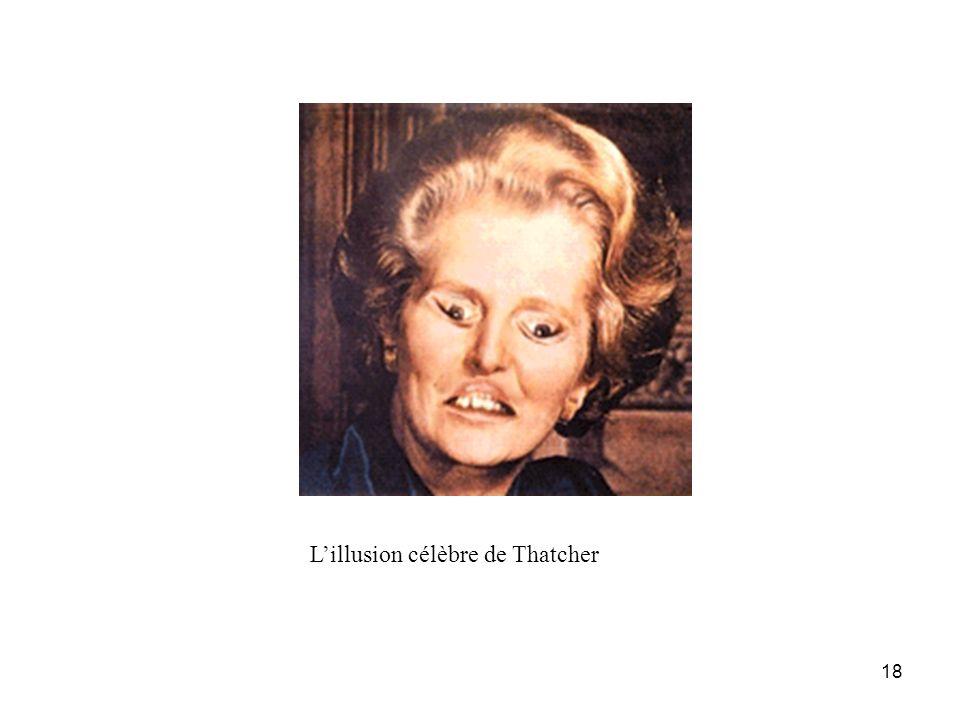 18 Lillusion célèbre de Thatcher