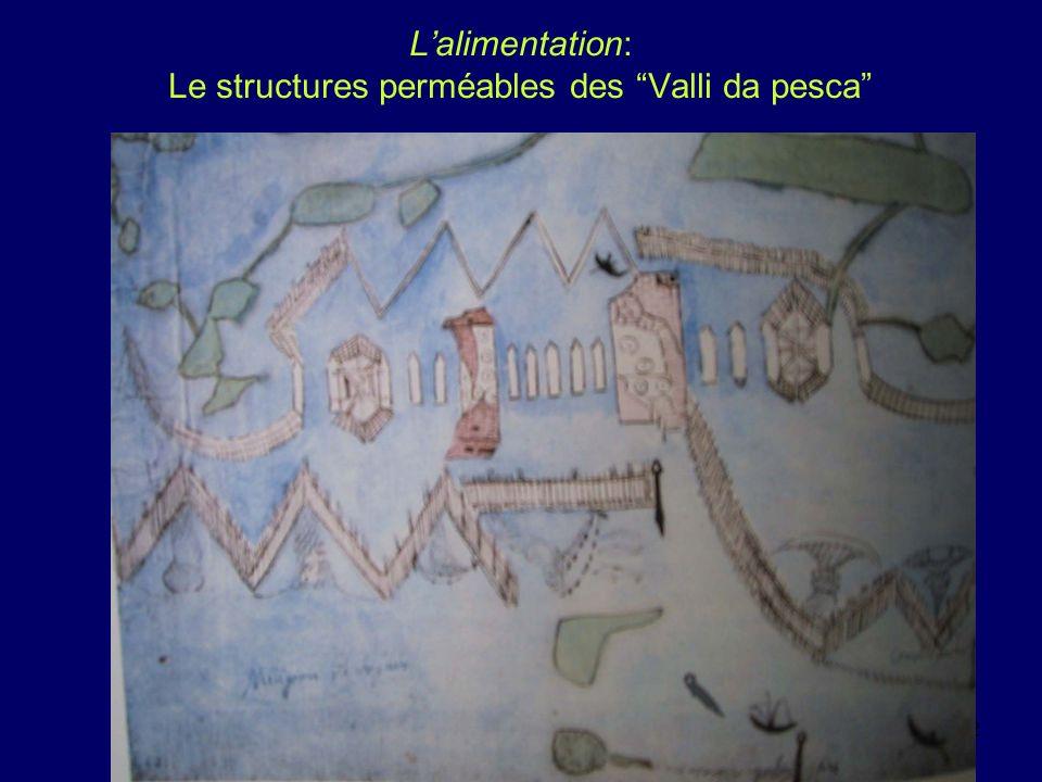 eddyburg.it, Lyon juin 20042 Lalimentation: Le structures perméables des Valli da pesca