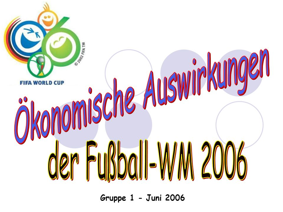Gruppe 1 - Juni 2006