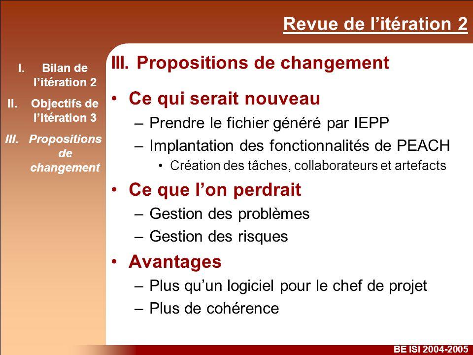Revue de litération 2 BE ISI 2004-2005 III.