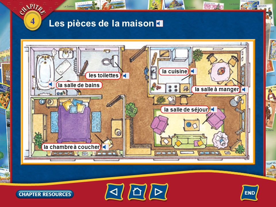 4 un ascenseur Cest pas rigolo! monter à pied un escalier Les Briand montent toujours en ascenseur. Ils montent au troisième étage.