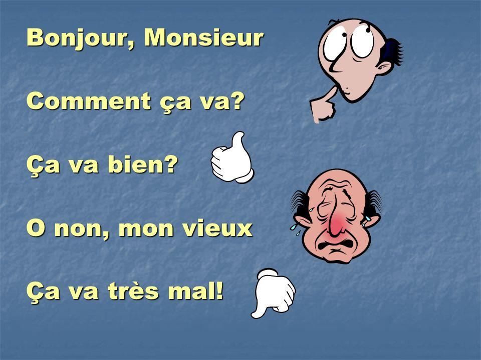 """Pr�sentation """"Bonjour Monsieur Par Matt Maxwell. Bonjour, Monsieur ..."""