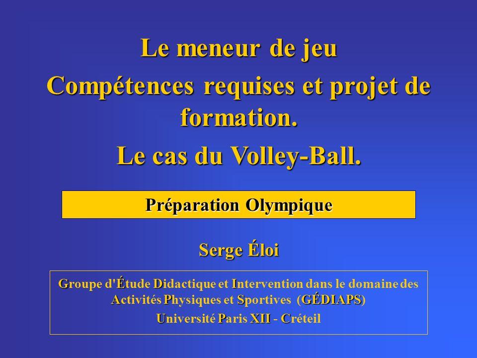 GÉDI APSGÉDIAPS Groupe d'Étude Didactique et Intervention dans le domaine des Activités Physiques et Sportives (GÉDIAPS) UPXIIC Université Paris XII -