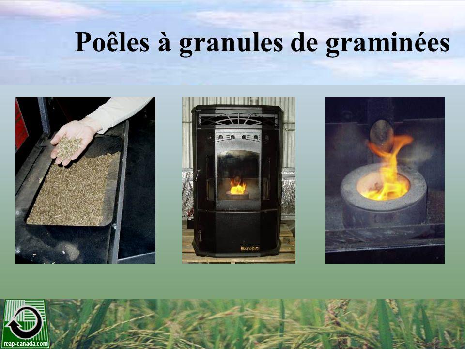 reap-canada.com Poêles à granules de graminées