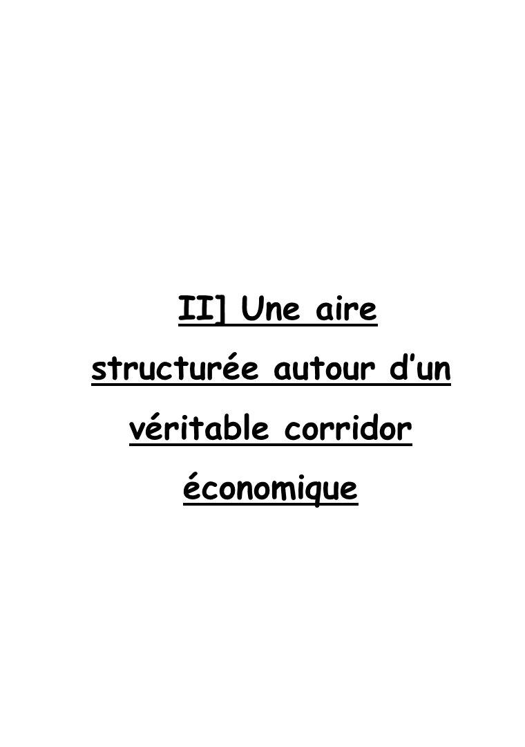 II] Une aire structurée autour dun véritable corridor économique