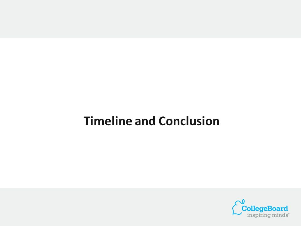 Timeline and Conclusion