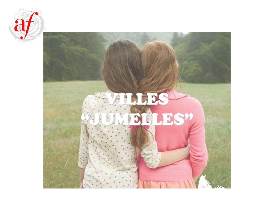 VILLES JUMELLES