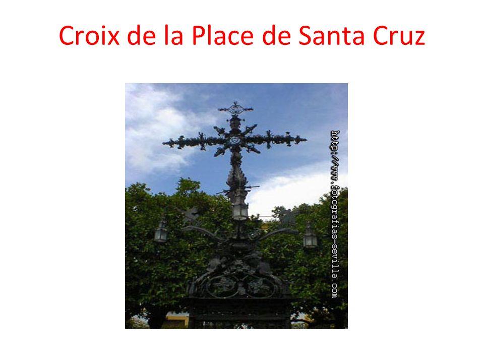 Croix de la Place de Santa Cruz