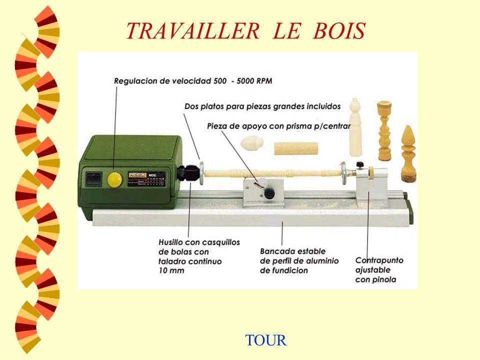 TRAVAILLER LE BOIS w SCIES ÉLECTRIQUES