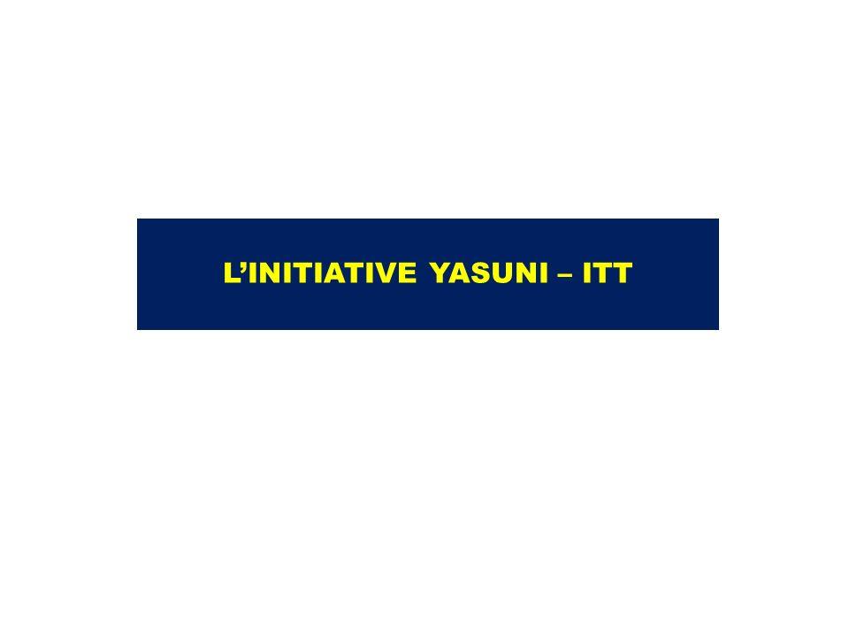 LINITIATIVE YASUNI – ITT