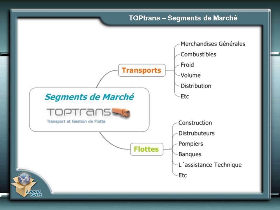 TOPtrans – Segments de Marché