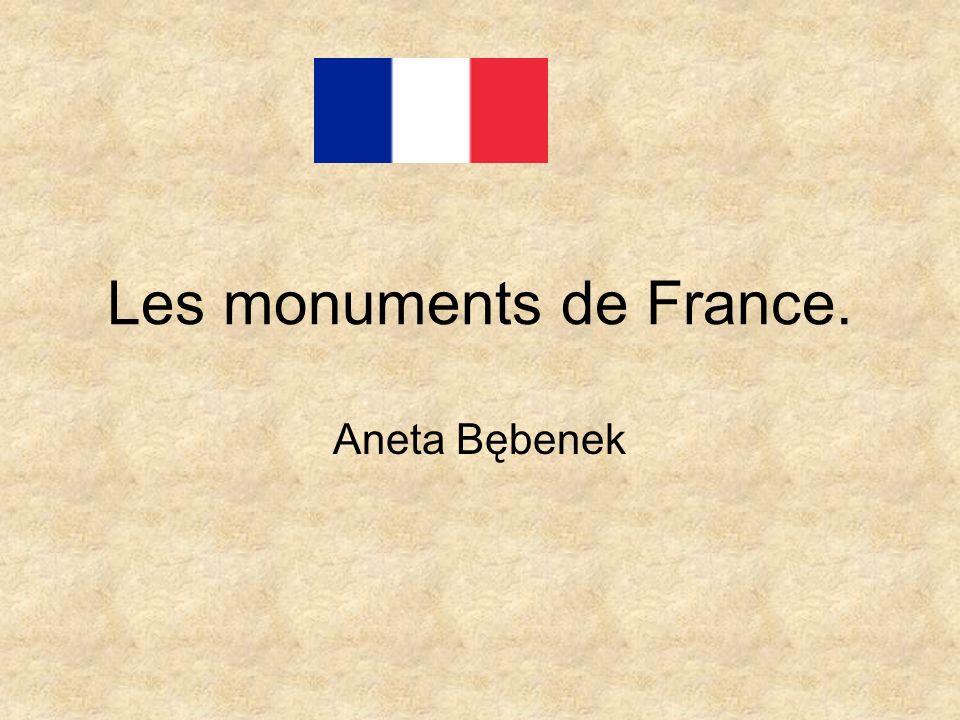 Les monuments de France. Aneta Bębenek