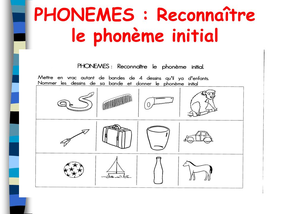 PHONEMES : Supprimer le phonème final avec support image