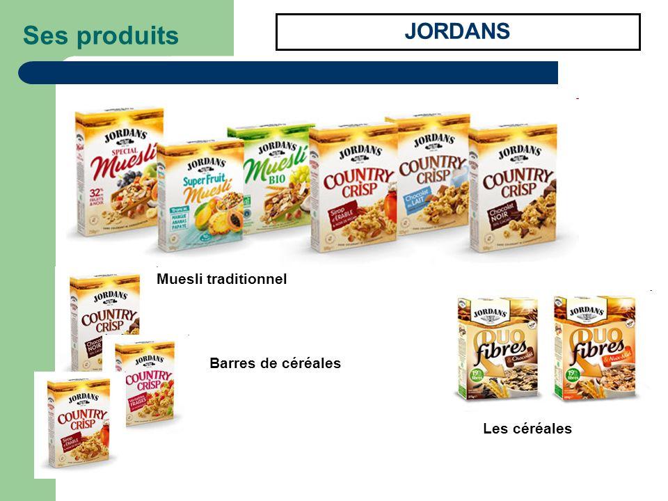 JORDANS Ses produits Barres de céréales Les céréales Muesli traditionnel