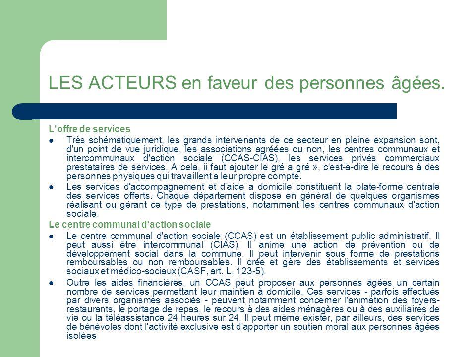 Dispositifs Les centres locaux d information et de coordination gérontologiques (Clic).