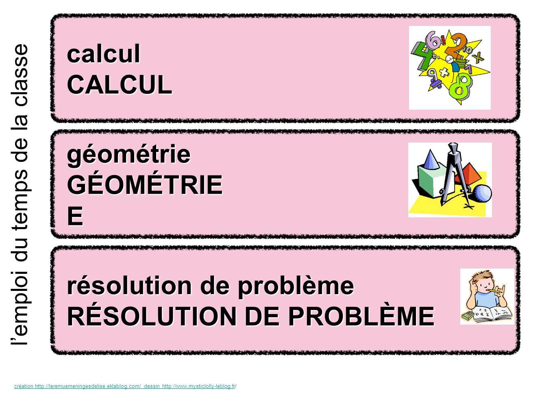 énigmes mathématiques énigmes mathématiques ÉNIGMES MATHÉMATIQUES ÉNIGMES MATHÉMATIQUES E lemploi du temps de la classe création http://leremuemeningesdelise.eklablog.com/ dessin http://www.mysticlolly-leblog.frcréation http://leremuemeningesdelise.eklablog.com/ dessin http://www.mysticlolly-leblog.fr/ numération NUMÉRATION calcul mental calcul mental CALCUL MENTAL CALCUL MENTAL