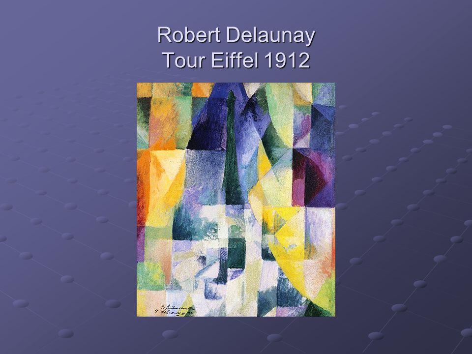 Robert Delaunay Tour Eiffel 1912