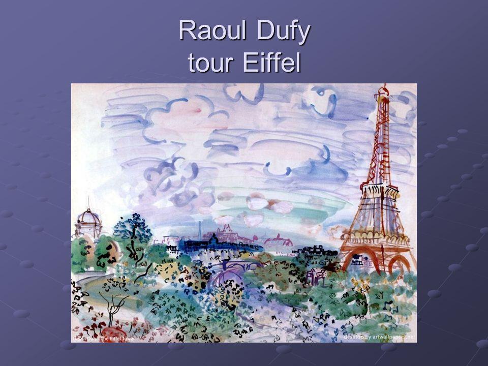 Raoul Dufy tour Eiffel
