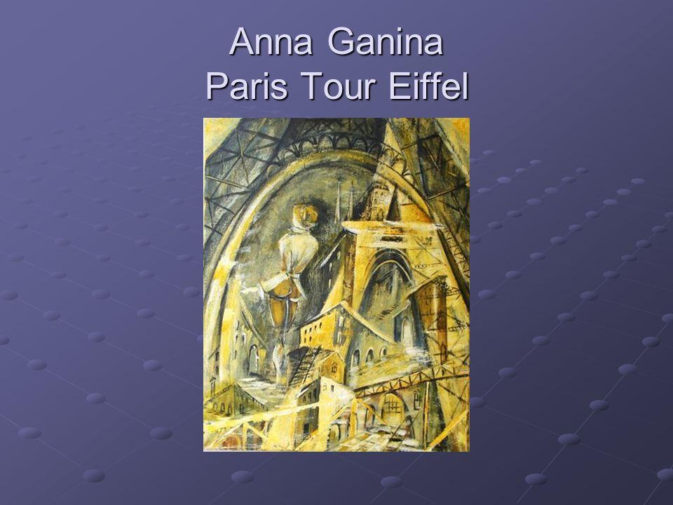 Anna Ganina Paris Tour Eiffel