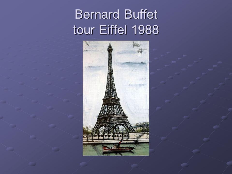 Bernard Buffet tour Eiffel 1988