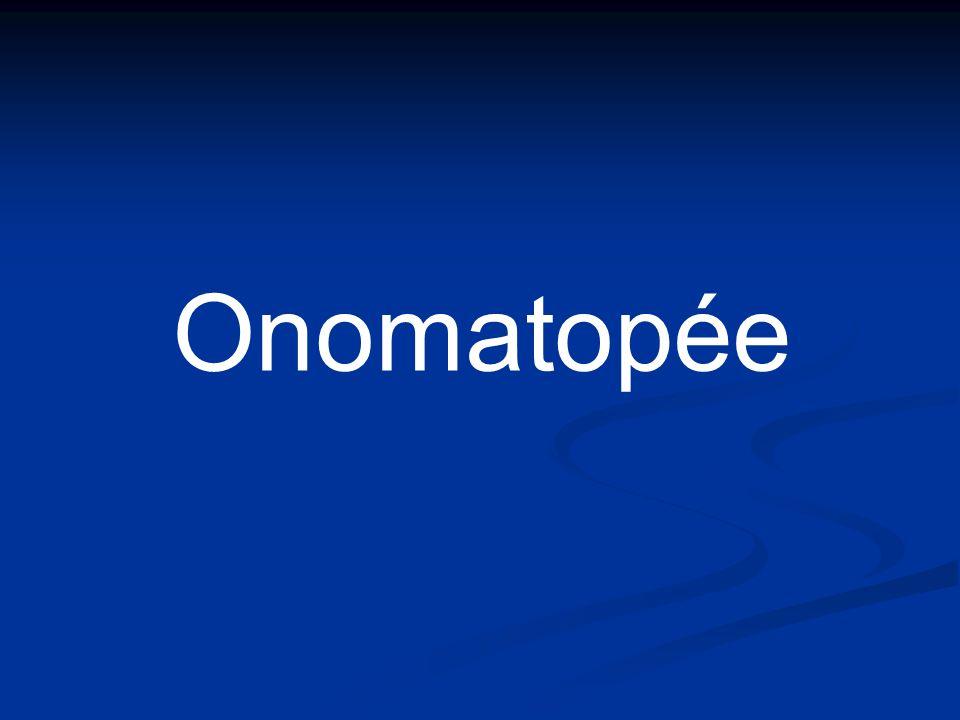 Onomatopée