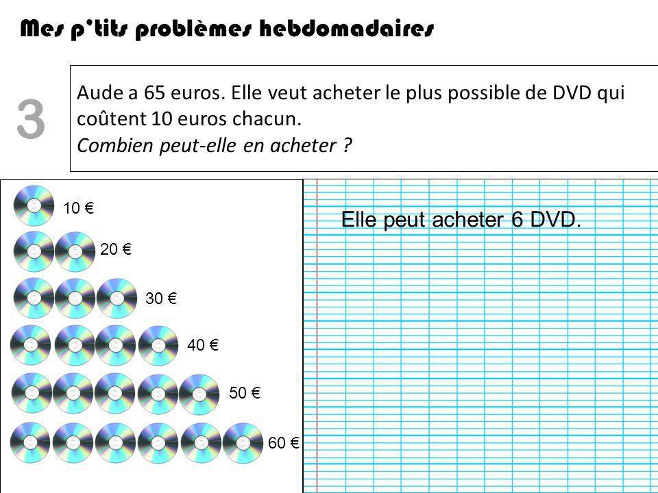 Estelle a 25 euros en billets de 5 euros.Combien a-t-elle de billets .