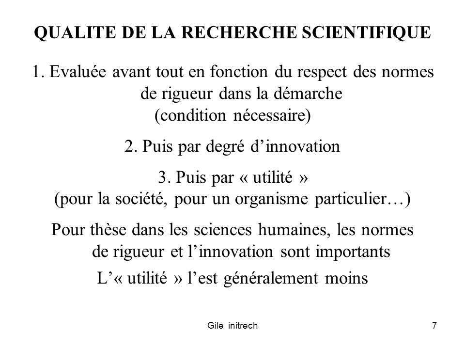 Gile initrech18 CYCLE SCIENTIFIQUE CANONIQUE (2) OBSERVATIONS INITIALES (EMPIRIQUE) GENERALISATION PROVISOIRE (THEORIQUE) VERIFICATION DE LA THEORIE (EMP.