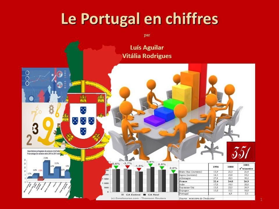 1 Le Portugal en chiffres par Luís Aguilar Vitália Rodrigues