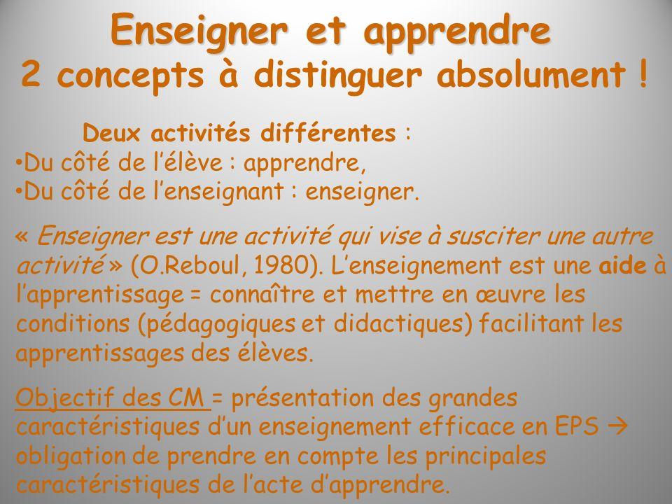 Ce qui sapprend (et donc ce qui senseigne) en EPS (comme dans les autres disciplines), ce sont des compétences (Charte des programmes, 1992).