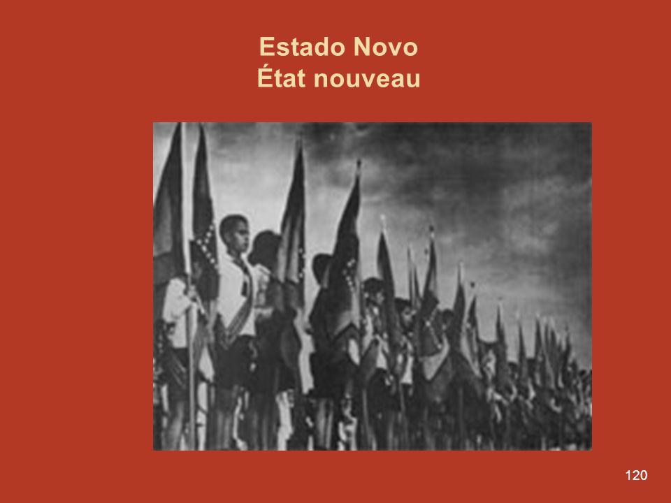 119 La dictature de Salazar et lÉtat nouveau 1933-1974 António de Oliveira Salazar Président du Conseil. 1933 à 1968 (35 ans)