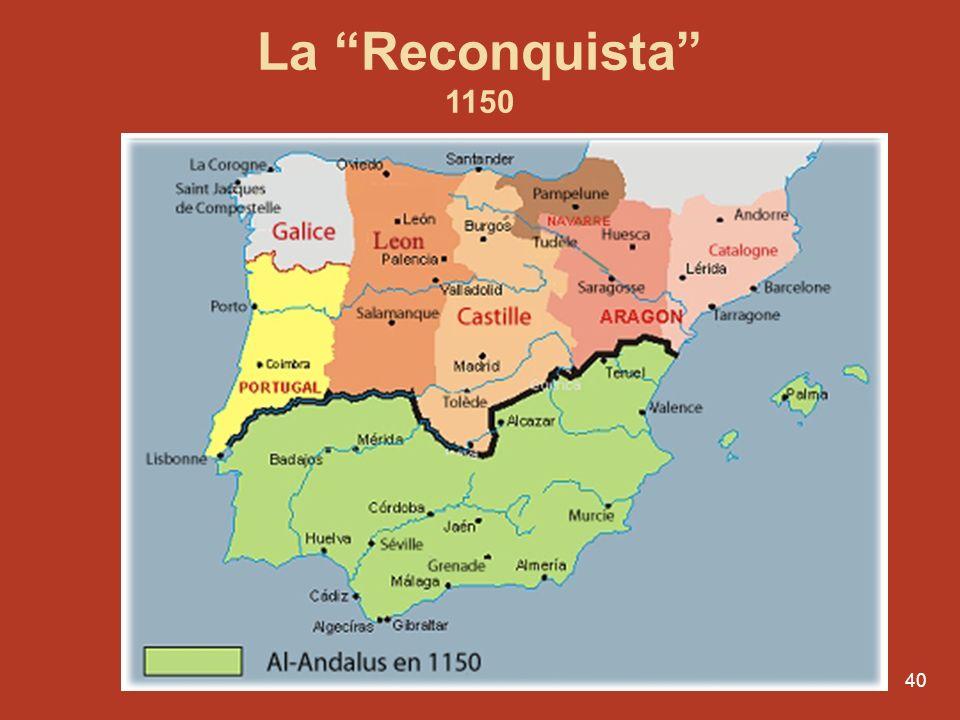 39 Indépendance du Portugal Dom Afonso Henriques 1109- 1185 1128 - bataille de São Mamede contre Teresa, sa mère 1139- bataille de Campo de Ourique co