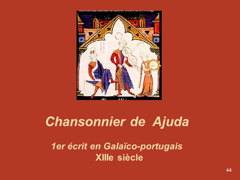 43 Lévolution de la langue portugaise