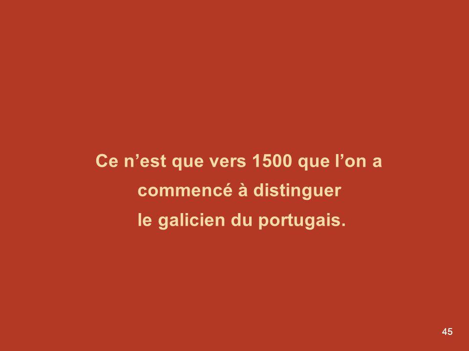 44 Chansonnier de Ajuda 1er écrit en Galaïco-portugais XIIIe siècle